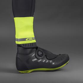 GripGrab CyclinGaiter Hi-Vis Manchette de cheville pour pluie haute visibilité, fluo yellow